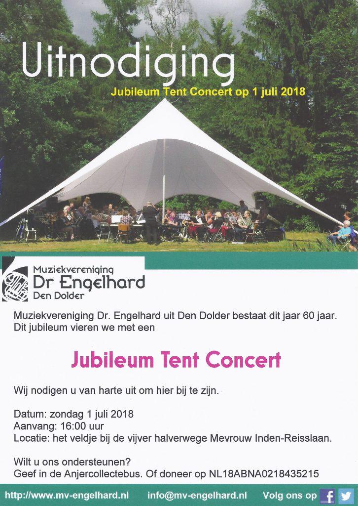 Uitnodiging Tent Concert 1-jul-2018